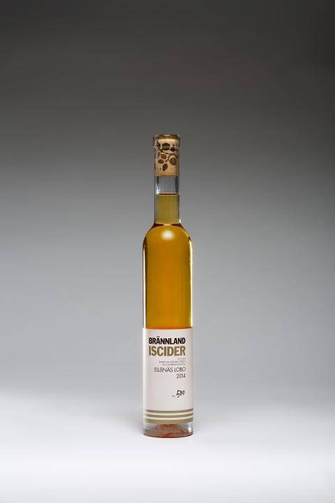 Brännland Cider släpper begränsad upplaga av LOBO ELLENÄS ISCIDER 2014
