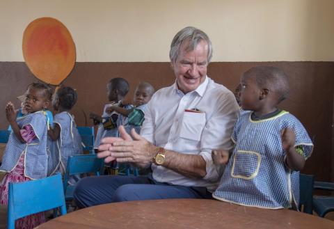 Norwegian och UNICEF flyger katastrofhjälp till Tchad