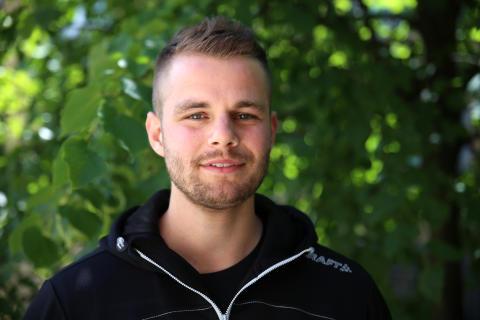 Tobias Fjelde (2), personlig trener og senterleder SiO Athletica