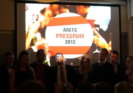 Findus vann Årets Pressrum 2012