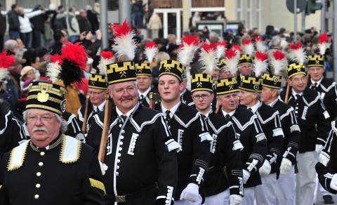 Abschlussbergparade am 4. Advent in Annaberg-Buchholz