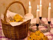 Julkonsert med luciatablå den 14 december