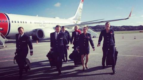Tripulaciones de Norwegian