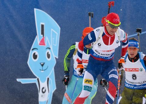 Laguttak normalprogram menn, VM i Oslo