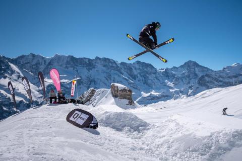 Schilthorn Open . SKYLINE SNOWPARK