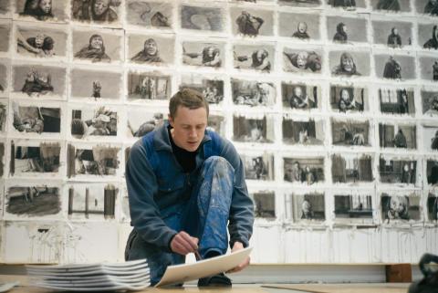 Nordiska Akvarellmuseet ställer ut verk ur Knutte Westers film Horungen