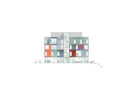 HSB Living Lab - fasad