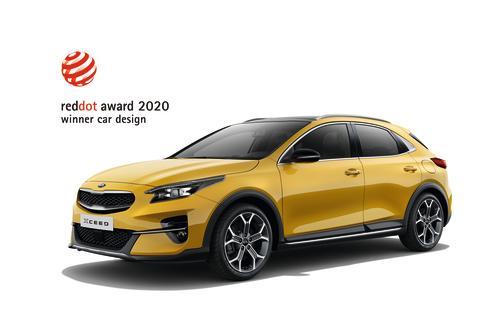 2020 Red Dot Product Design award til KIA XCeed