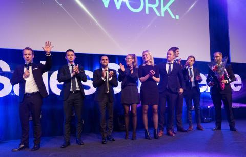 Prisutdelning - Sales Award Gala