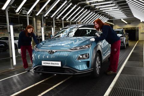 Hyundai tredobler KONA-produksjonen og vil bli Europas største elbilmerke i 2020