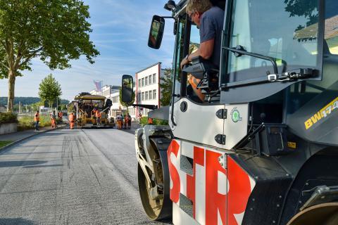 High-Tech-Straßenbelag soll zur Luftreinhaltung in Stockach beitragen