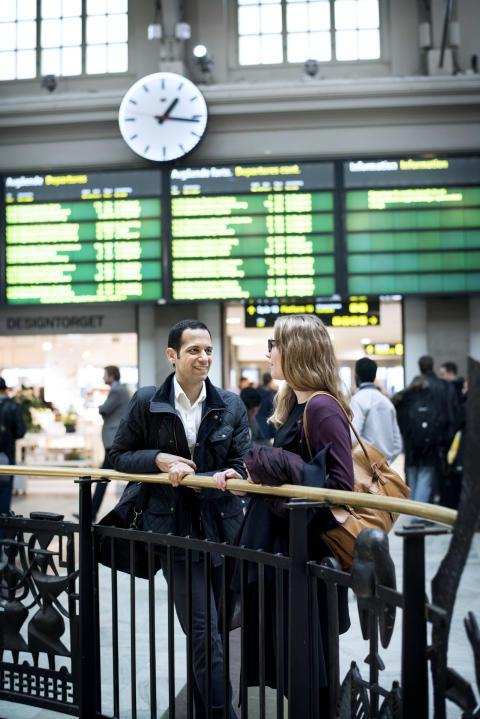 Resenärer centralen