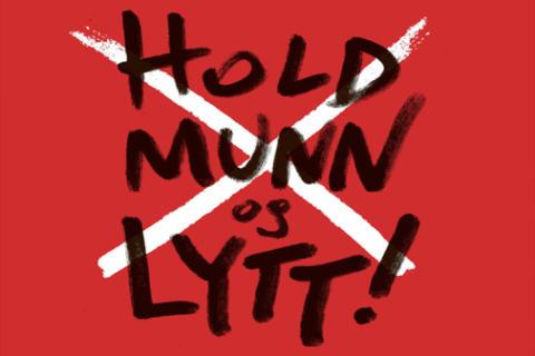 Ny bok: Hold munn - og lytt!