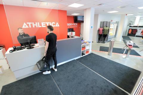 SiO Athletica åpner dørene igjen