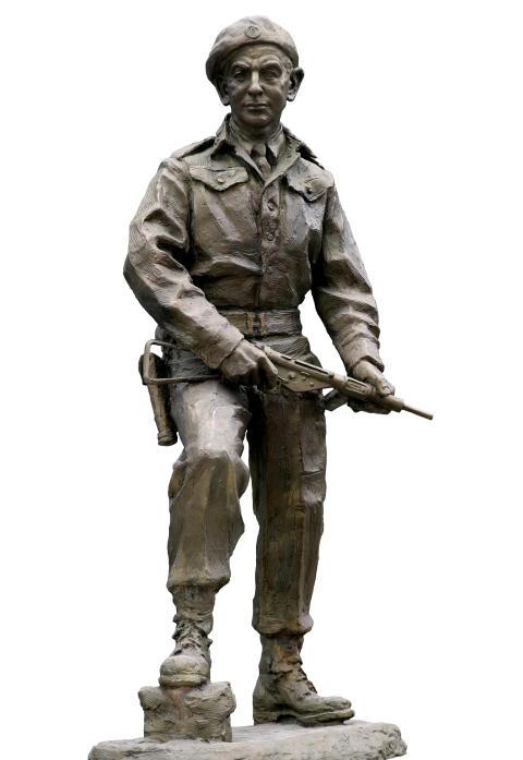 Motstandsmannen Max Manus hedres med egen statue