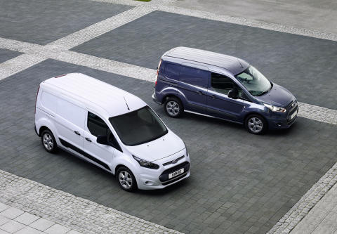 Ford priser varebilen Transit Connect og flerbruksbilen Tourneo Connect