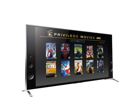 Sony X9 Privilege movies 4K
