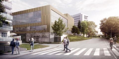 Stort fasaduppdrag ska ge sjukhuset särprägel