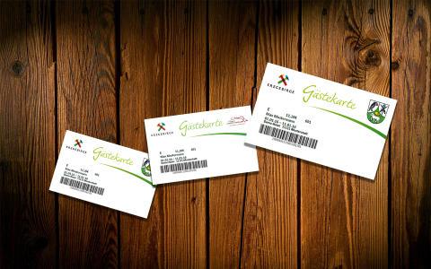 Gästekarte  Erzgebirge mit attraktiven Rabattpartnern