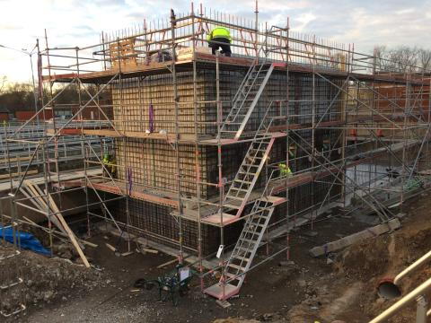 Drug residues treatment is now under construction in Linköping, Sweden