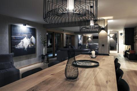 Interiørløsning og møbler til hotell
