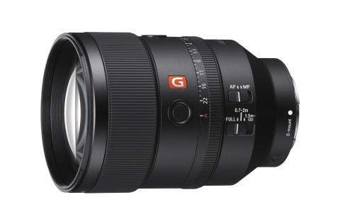 Sony Announces New Full-frame  135mm F1.8 G Master Prime Lens with Stunning  Resolution and Bokeh, Excellent AF Performance