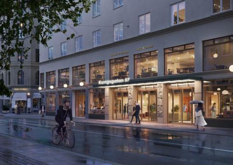 Grant Thornton flyttar till nytt huvudkontor på Kungsgatan 57