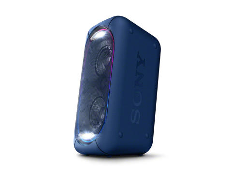 Powerful Portable Partying  with EXTRA BASS™ speakers from Sony