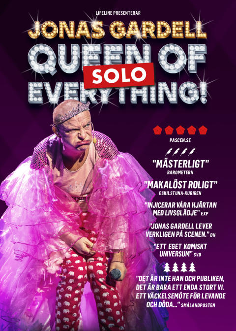 Jonas Gardell - Queen of f*cking everything - SOLO