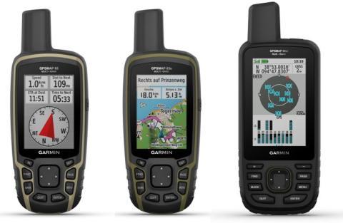 NOUVEAUX GARMIN GPSMAP 66SR ET 65 SERIES :  QUAND L'AVENTURE RIME AVEC PRÉCISION