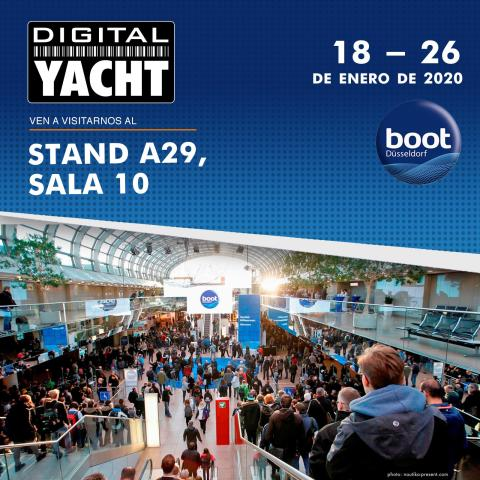 Digital Yacht estará en el Boot 2020 de Düsseldorf