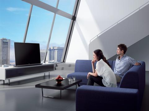 55HX850 Penthouse with people