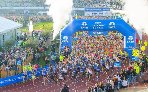 TCS Amsterdam Marathon bekroond met World Athletics Platinum Label