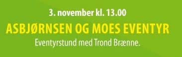 Velkommen til bok & bolle - et gratis arrangement for barn: Asbjørnsen og Moes eventyr