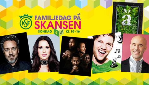 Familjedag på Skansen 4 sep -  fri entré