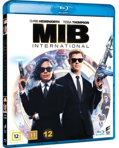 MEN IN BLACK INTERNATIONAL, Blu-ray