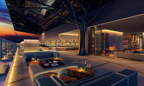 Rooftop Bar Maritim Hotel Hefei (Visualization)
