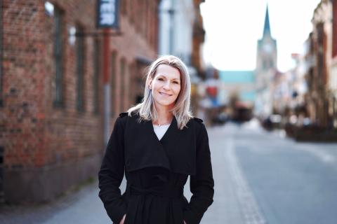 Karolina Davidsson är ny VD för Destination Halmstad