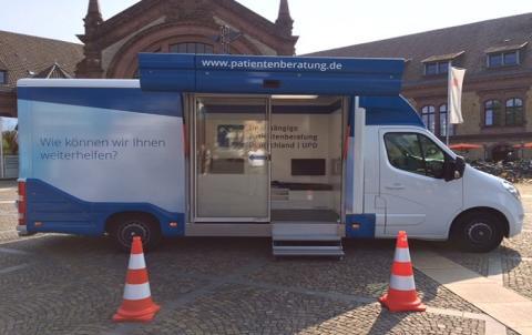 Beratungsmobil der Unabhängigen Patientenberatung kommt am 22. März nach Osnabrück.