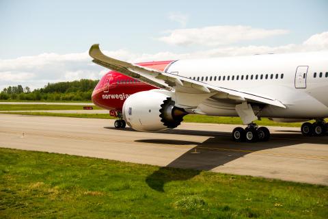 Norwegian med passagerarrekord och hög kabinfaktor i juli