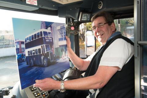 Last of Sunderland District Omnibus drivers retires