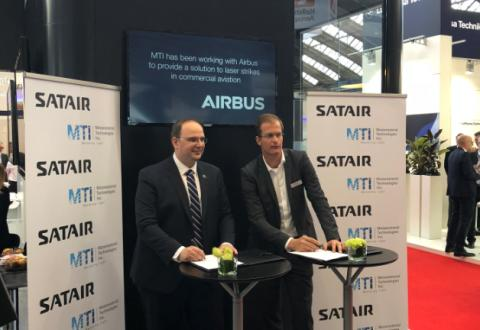 Satair brings innovative laser strike protection technology to aviation and military markets
