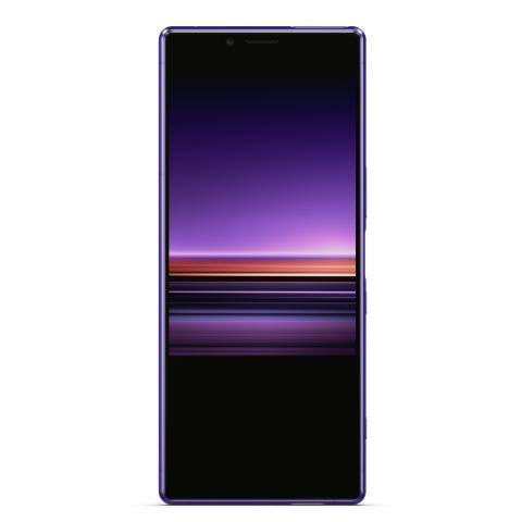 Xperia 1_purple_front