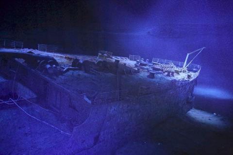 TITANIC - Die Versprechen der Moderne: Yadegar Asisi zeigt spektakuläres 360°-Panorama in Leipzig