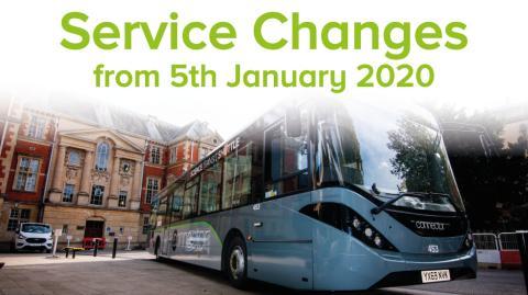 Service Changes - ST1/ST1A, 45