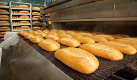 Livsmedelsindustri - brödtillverkning