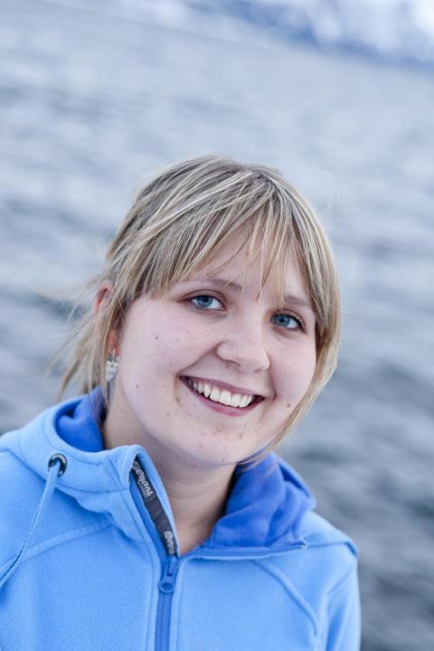 Marit Holmvaag Hansen, leder for settefiskproduksjon i Cermaq.