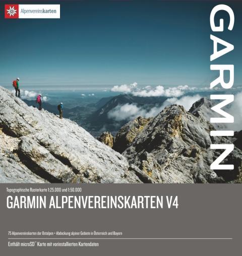 Von Bergsteigern für Bergsteiger: Garmin Alpenvereinskarten V4