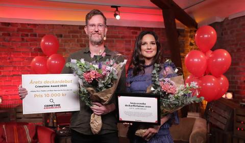 Crimetime Award prisade idag Sveriges deckarelit
