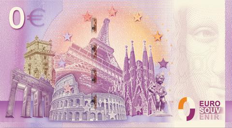 0-Euroschein 125 Jahr NOK
